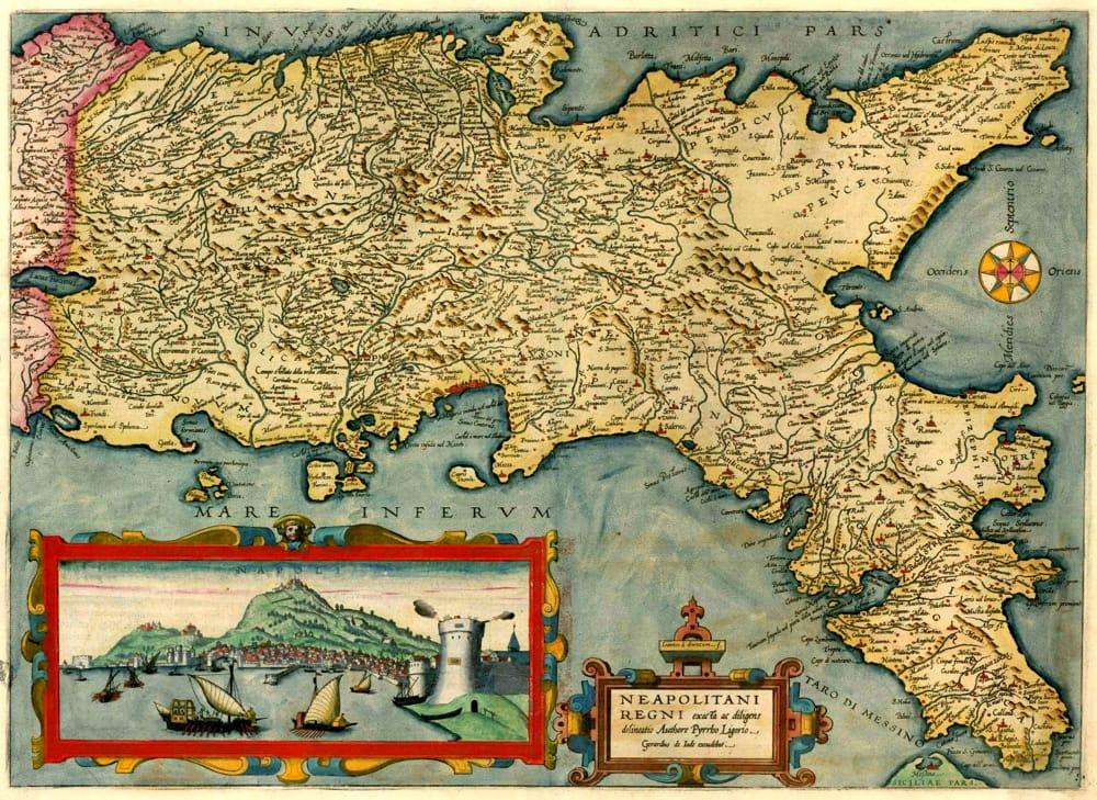 Cartina Marano Di Napoli.Napoli La Nobile Citta Ed Il Suo Regno Mostra Di Antiche Mappe Geografiche Eventi A Napoli