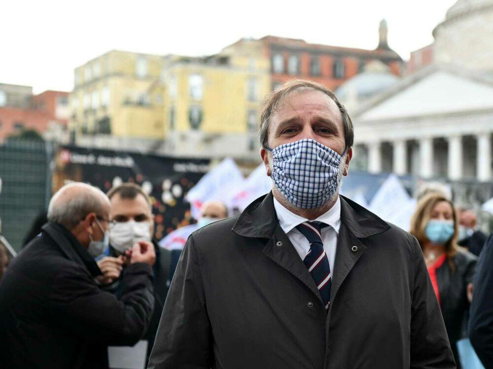 Manifestazione Precari Scuola Napoli Foto De Cristofaro