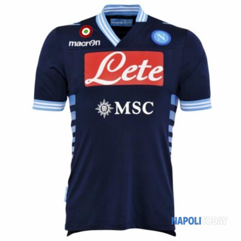 Seconda maglia Napoli 2012-2013