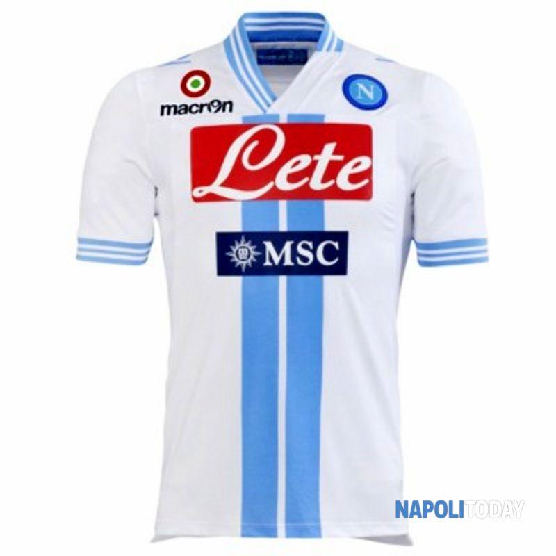 Napoli, la terza maglia 2012-2013