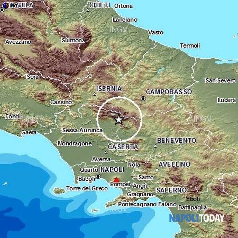 Cartina Geografica Politica Campania.Terremoti Mappa Della Pericolosita Sismica