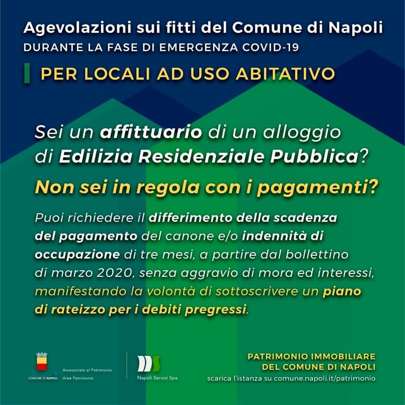 Emergenza Da Coronavirus Le Agevolazioni Per Gli Inquilini Del Comune Di Napoli