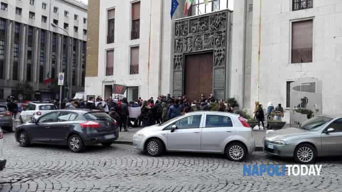 La protesta degli studenti ischitani (1)