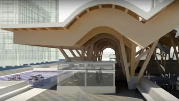 metro centro direzionale rendering-2