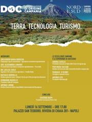 Locandina convegno Terra, tecnologia, turismo-2